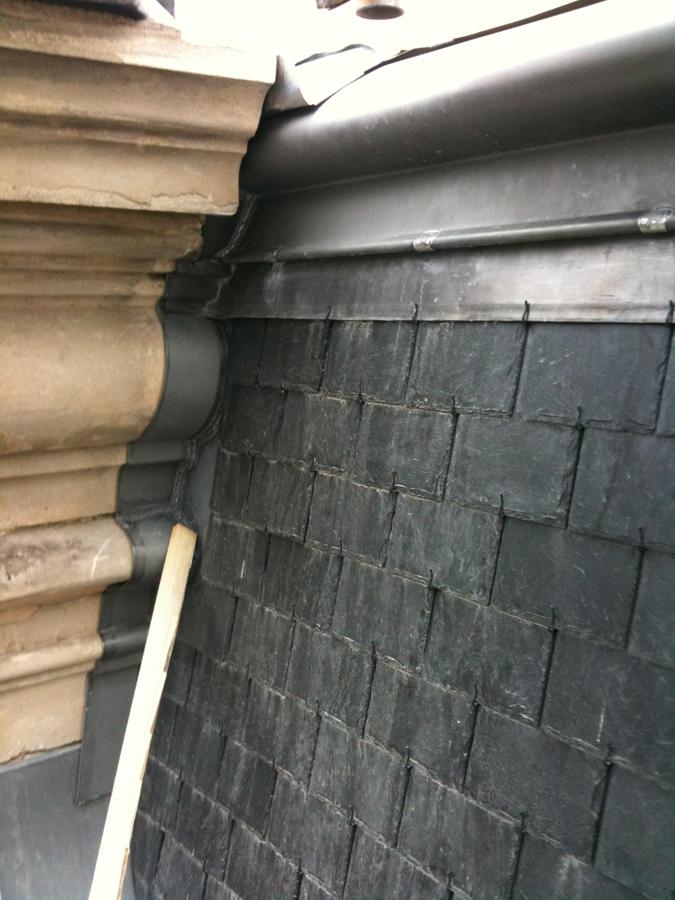 Restauration D 39 Une Maison Individuelle En Ardoises Glot