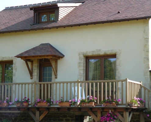Tuiles plate - maison individuelle - Glot Couverture